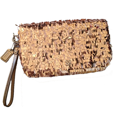 Picture of COACH Occasion Collection Sequin Clutch