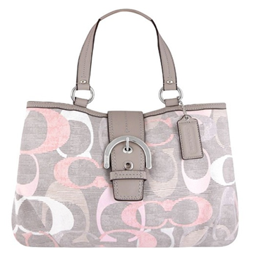 Picture of COACH Soho Opt Linen East West Tote