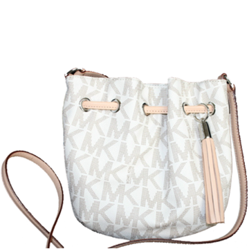 Picture of MICHAEL Michael Kors Vanilla MK Logo Crossbody