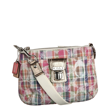 Picture of COACH Poppy Madras Swingpack Crossbody