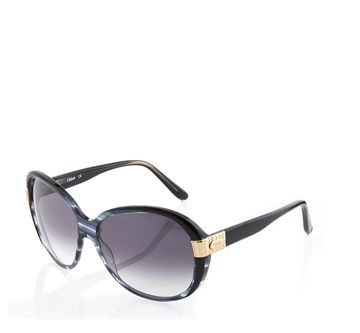 Picture of Chloé Round Sunglasses, Gray Horn