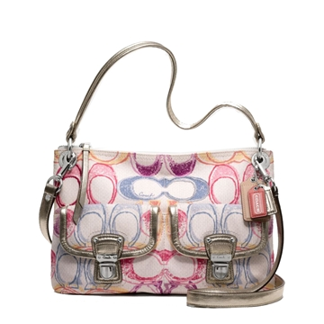 Picture of COACH Poppy Dream C Multicolor Hippie Crossbody