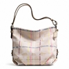 Picture of COACH 24CM Signature Tattersall Duffle