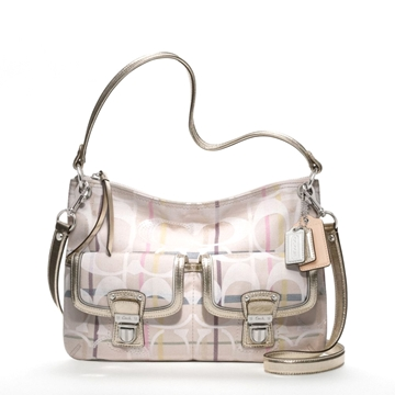 Picture of COACH Poppy Tattersall Pocket Hippie Crossbody