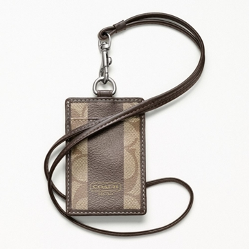 Picture of COACH Heritage Stripe Lanyard