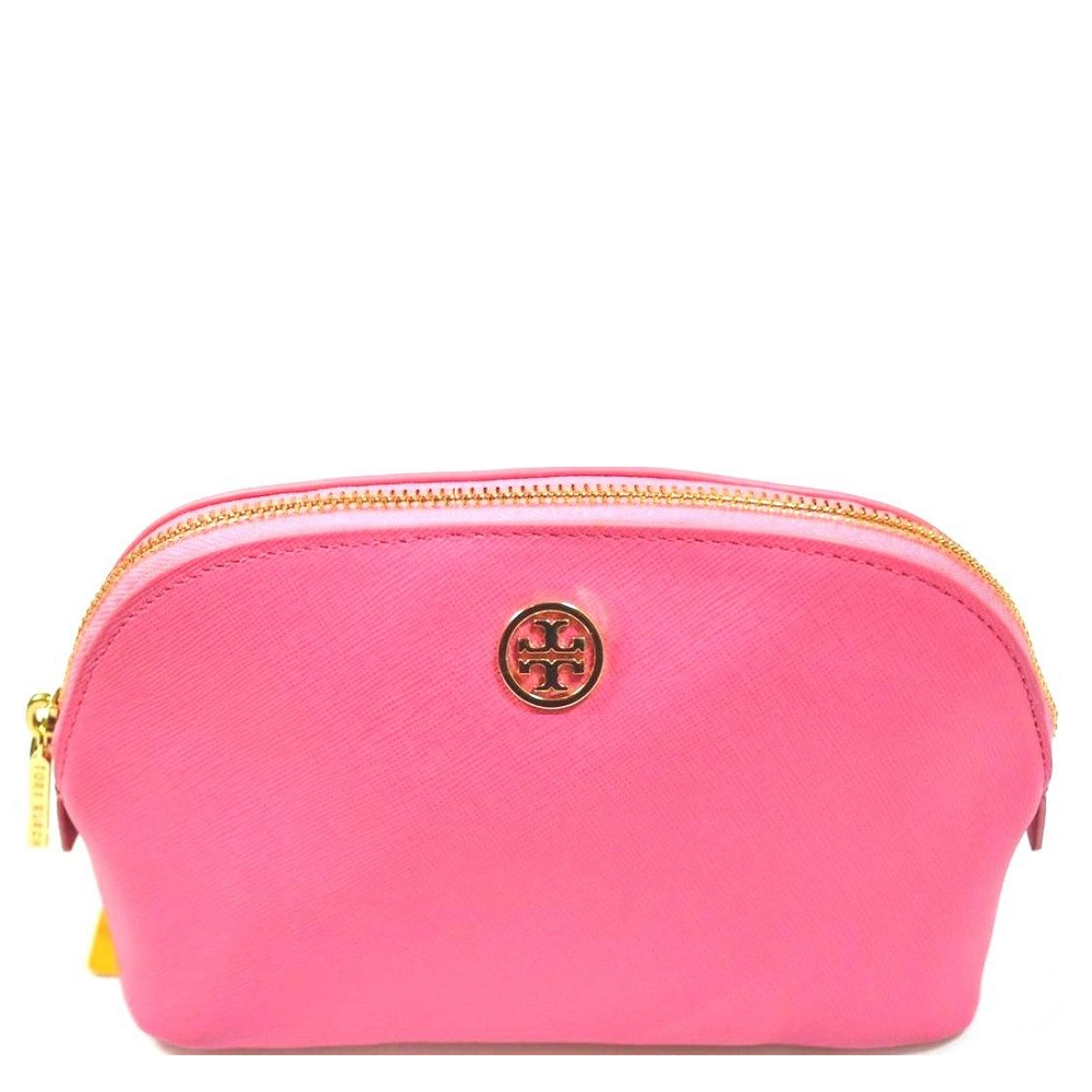 home tory burch robinson makeup bag tory burch robinson makeup bag ...