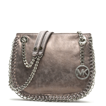 Picture of MICHAEL Michael Kors Small Chelsea Metallic Messenger