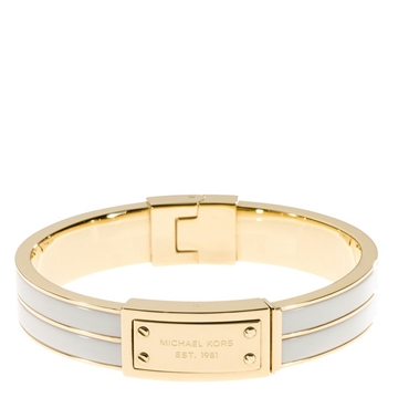 Picture of Michael Kors Logo-Plaque Bangle