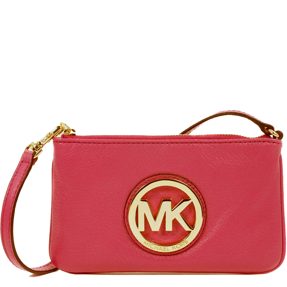 103bf6229924 Picture of MICHAEL Michael Kors Fulton Wristlet - Gold