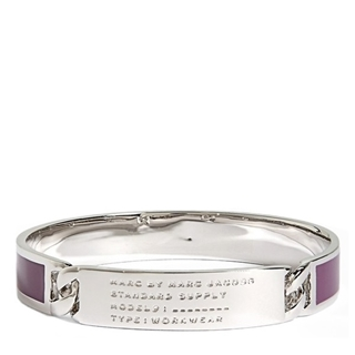 Picture of MARC by Marc Jacobs Standard Supply Id Bangle Pansy Purple
