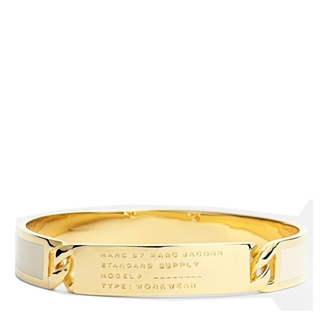 Picture of MARC by Marc Jacobs Standard Supply Id Bangle Cream