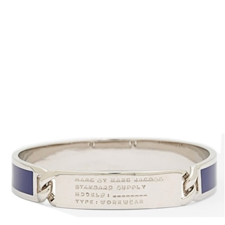 Picture of MARC by Marc Jacobs Standard Supply Id Bangle Bauhaus Blue