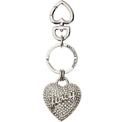 Picture of Juicy Couture Crystal Pave Heart Key Fob