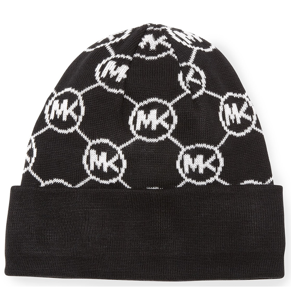 05e87c712af ... Picture of Michael Kors Knit Logo-Cuff Hat
