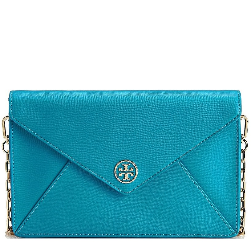 13746cba98bf Picture of Tory Burch Robinson Envelope Clutch