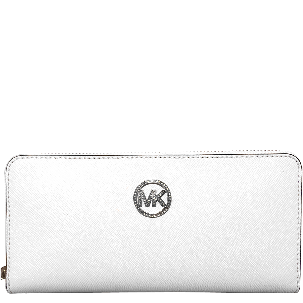 509d136e2e41af Picture of MICHAEL Michael Kors Jet Set Travel Jewel Zip-around Continental  Wallet