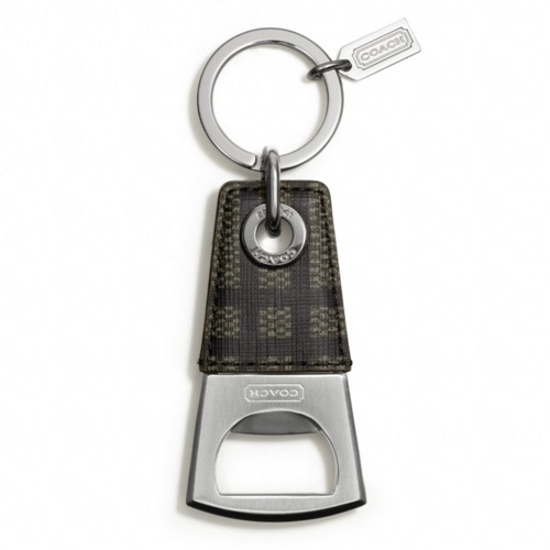 Picture of COACH Tattersall Bottle Opener Keyring