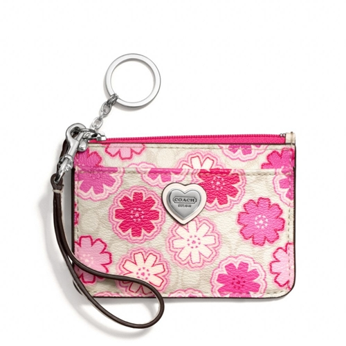 Picture of COACH Floral Print Id Skinny