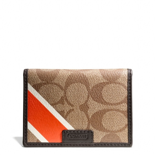 Picture of COACH Heritage Slim Passcase Id Wallet