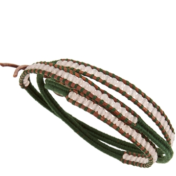 Picture of Chan Luu Triple Wrap Brown-Cord Bracelet