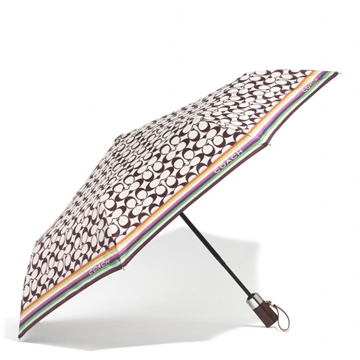 Picture of COACH Signature Umbrella