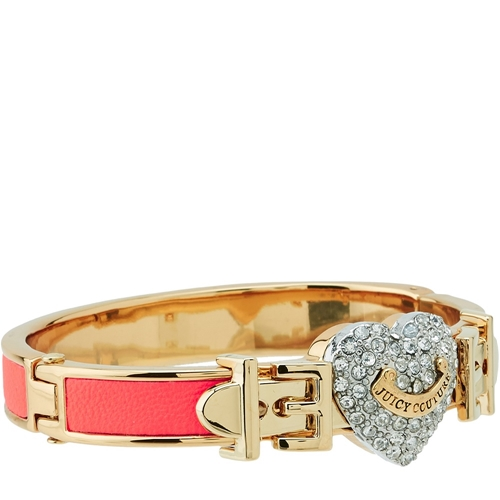 Picture of Juicy Couture Bright Pave Heart Neon Hinged Bangle