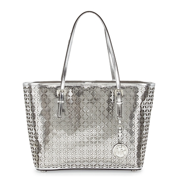 Picture of MICHAEL Michael Kors MK Flower Perforated Small Travel Tote