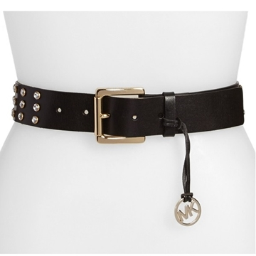 Picture of MICHAEL Michael Kors Rhinestone Studded Leather Belt