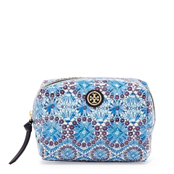 Picture of Tory Burch Brigitte Printed Cosmetic Case, Bahama Multi