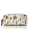 Picture of Tory Burch EW Cosmetic Case - New Ivory