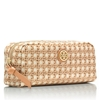 Picture of Tory Burch EW Cosmetic Case - Rattan