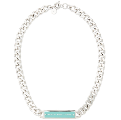 Picture of MARC by Marc Jacobs Chunky Enamel ID Necklace