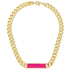 Picture of MARC by Marc Jacobs Chunky Enamel Id Necklace - Gold