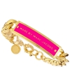 Picture of MARC by Marc Jacobs Enamel Id Bracelet - Gold