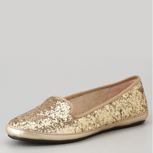 Picture of UGG Australia Alloway Glitter Loafer Flats