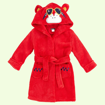 Picture of Petit Lem Plush Hooded Robe Monkey