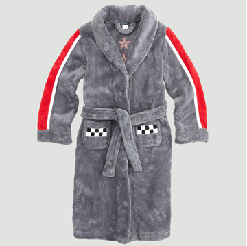 Picture of Petit Lem Plush Robe Race Car