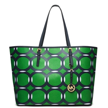 Picture of MICHAEL Michael Kors Medium Jet Set Deco Travel Tote