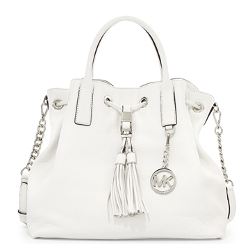 Picture of MICHAEL Michael Kors Camden LG Drawstring Satchel - Silver