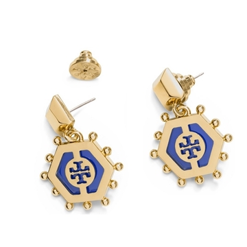 Picture of Tory Burch Caroline Drop Earrings
