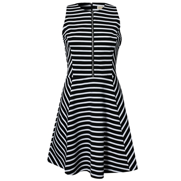 Picture of MICHAEL Michael Kors Circle Stripe Dress