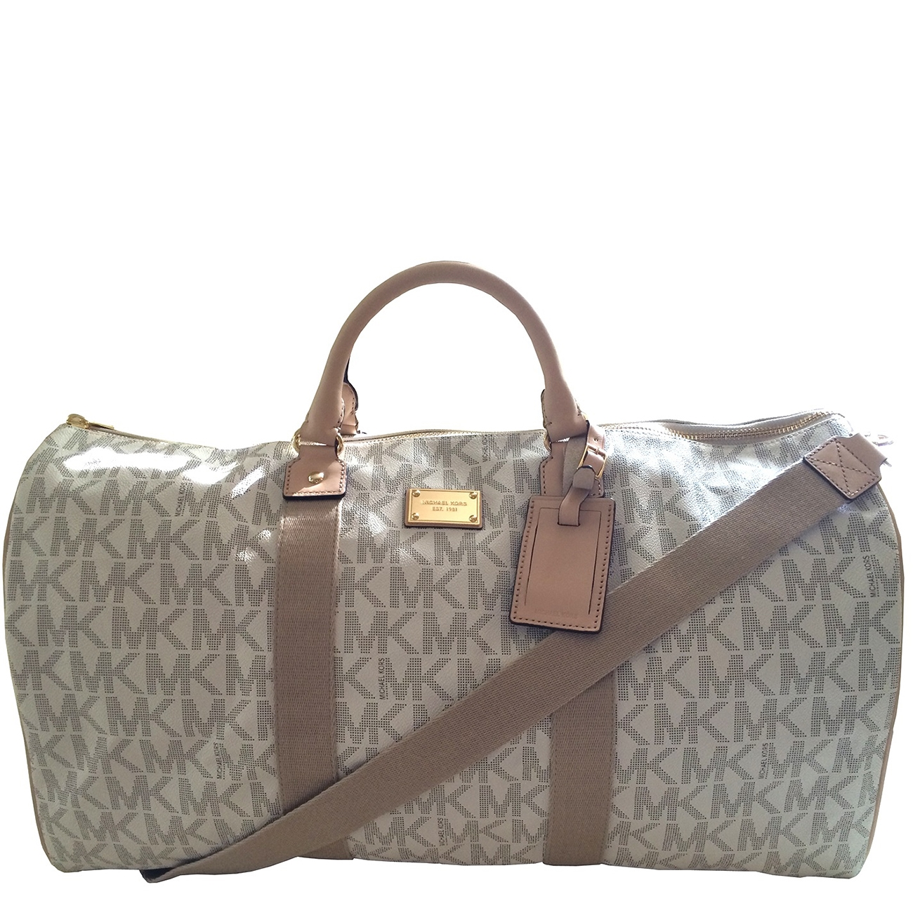 Picture Of Michael Kors Duffle Travel Luggage