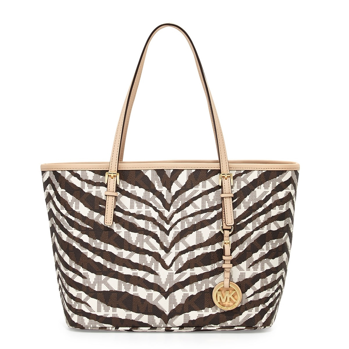 0b9a6d97df7a Picture of MICHAEL Michael Kors Jet Set Travel Signature Small Tote