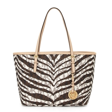 Picture of MICHAEL Michael Kors Jet Set Travel Signature Small Tote