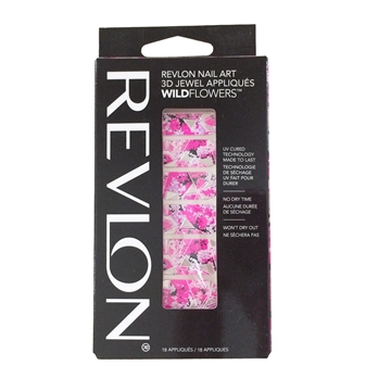 Picture of Revlon Nail Art 3D Jewel Appliques WildFlowers - Floral Fatale