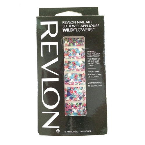 Picture of Revlon Nail Art 3D Jewel Appliques WildFlowers - Bow Quet