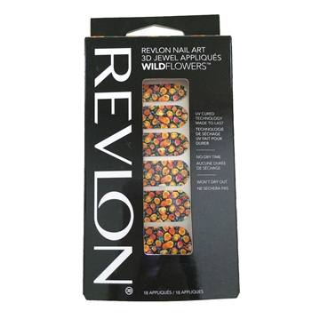 Picture of Revlon Nail Art 3D Jewel Appliques WildFlowers - Vintage Vibe