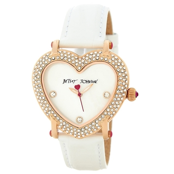 Picture of Betsey Johnson Women's Heart Shape Case Watch