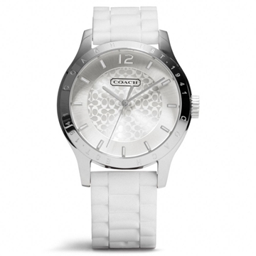 Picture of COACH Maddy Stainless Steel Rubber Strap Watch