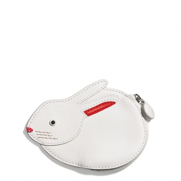Picture of COACH Bunny Motif Coin Purse